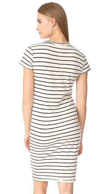 Stateside Striped T Shirt Dress