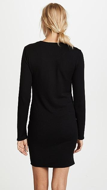 Stateside Side Knot Sweatshirt Dress