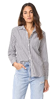 Stateside Oxford Shirting Button Down