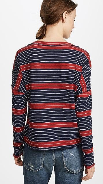 Stateside Striped Long Sleeve Tee