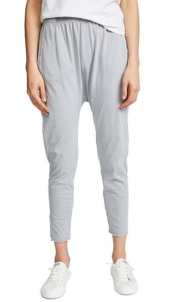 Stateside Harem Lounge Pants In Silver