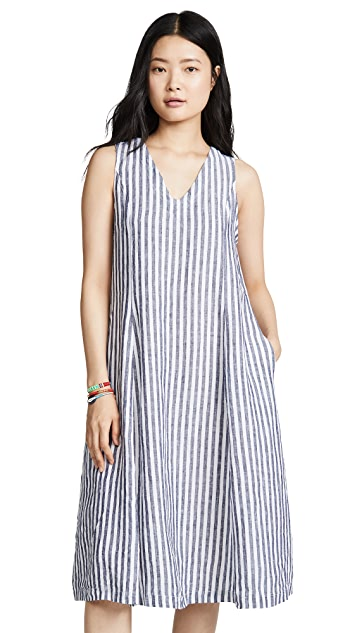 Stateside Linen Shirting Dress