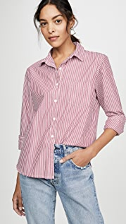 Stateside Рубашка в полоску с воротником на пуговицах
