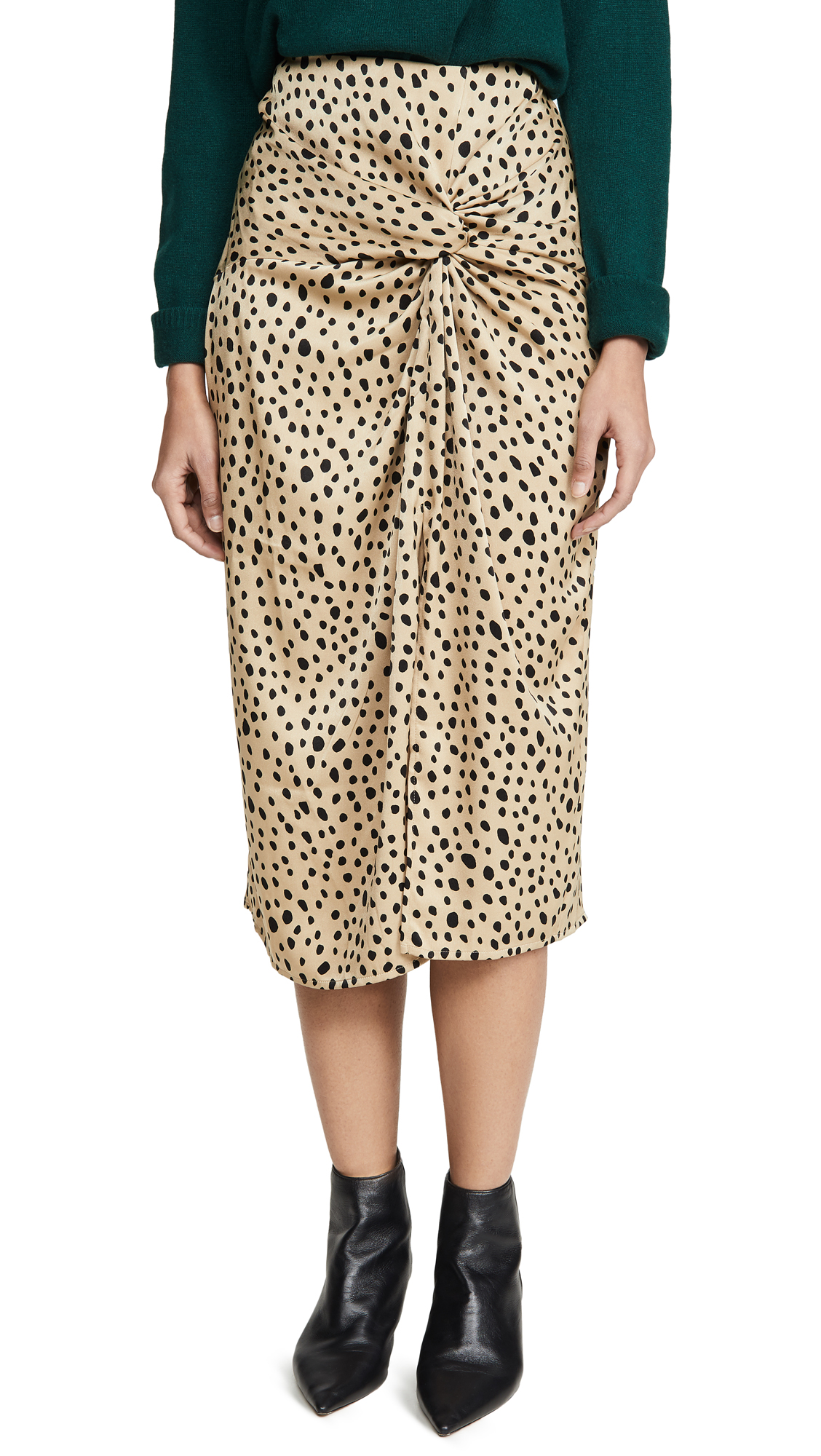 Buy Stateside online - photo of Stateside Leopard Twist Skirt