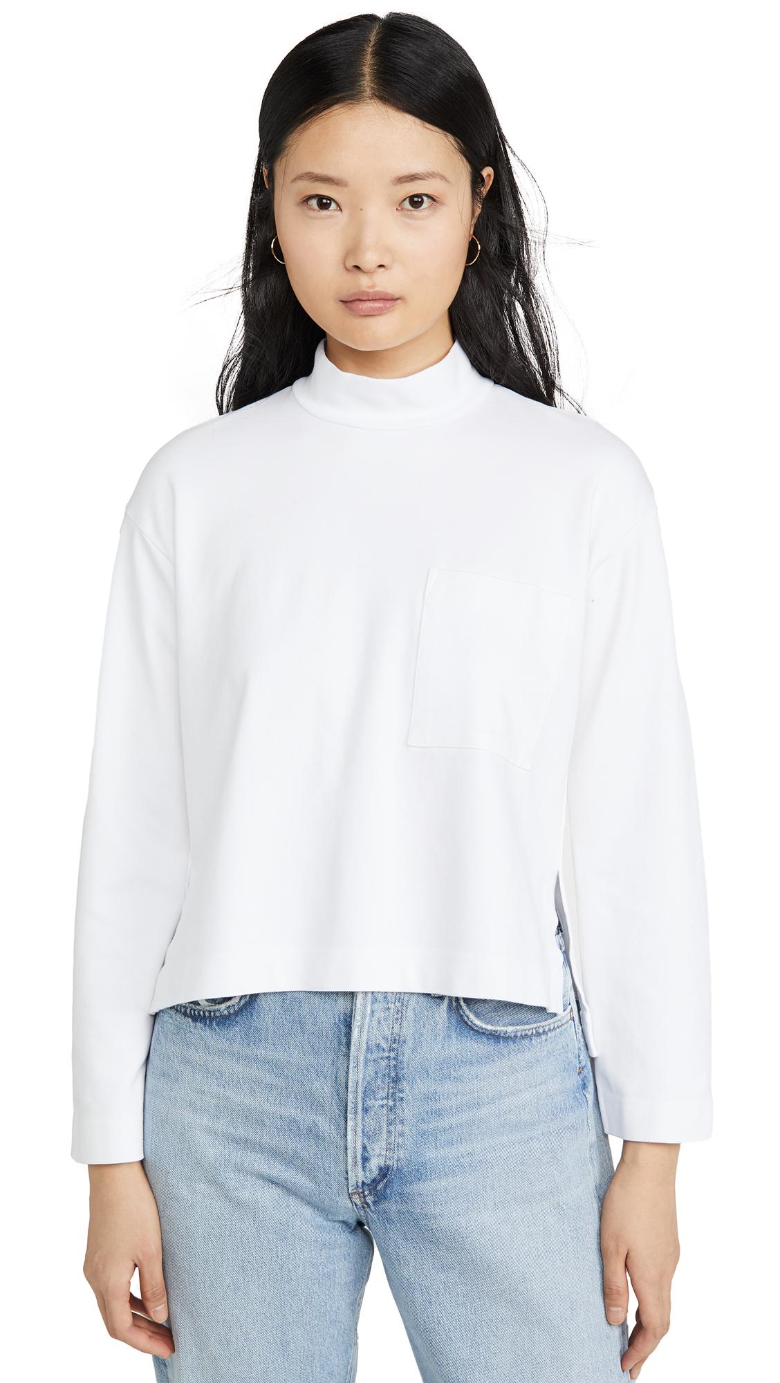 Buy Stateside online - photo of Stateside Mock Sweatshirt