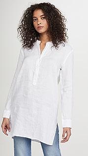 Stateside Linen Button Up Tunic