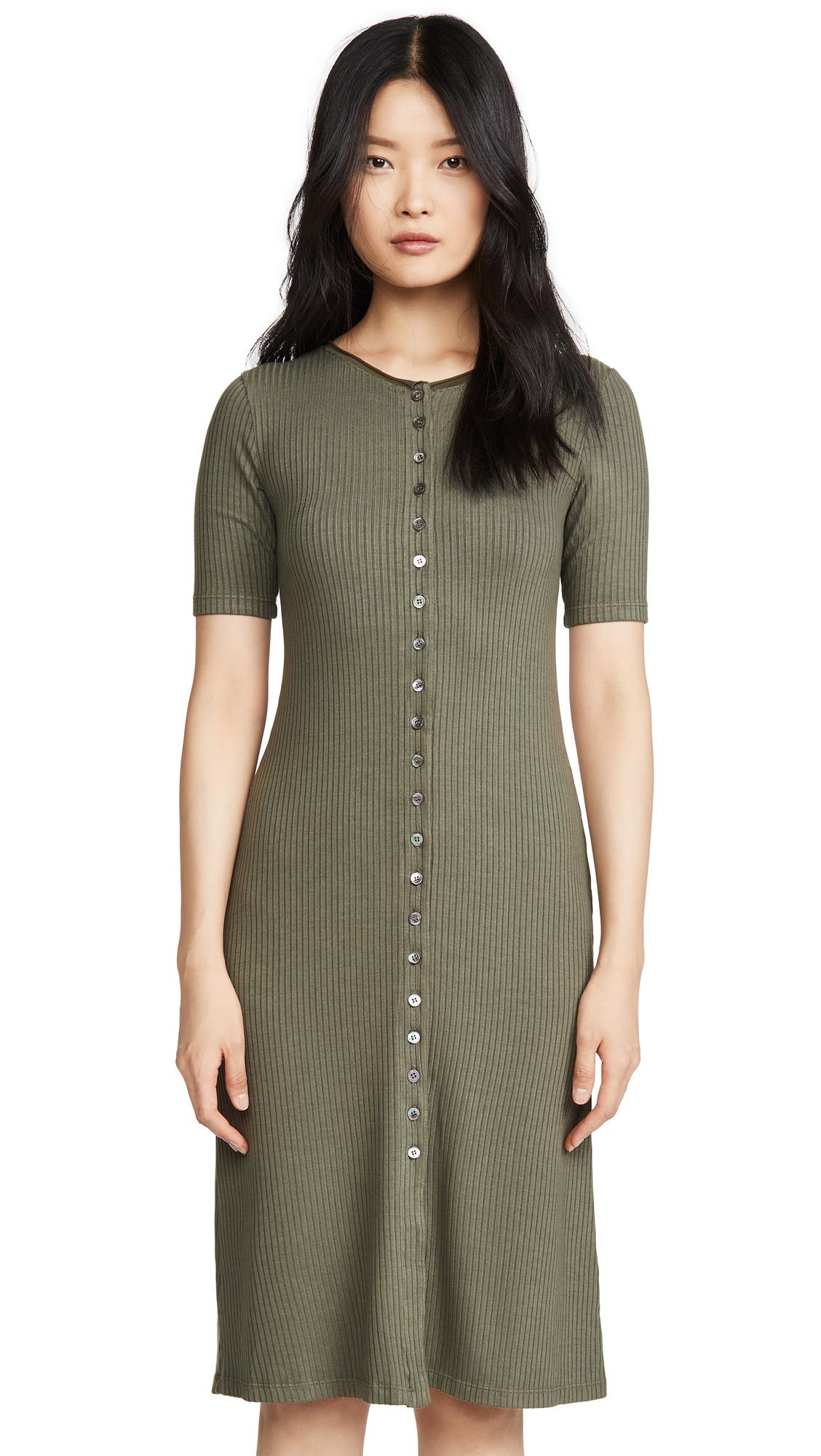 Buy Stateside 5x3 Rib Maxi Button Up Dress online beautiful Stateside Clothing, Dresses