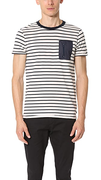 Scotch & Soda Nylon Pocket Tee