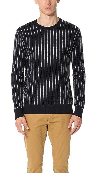 Scotch & Soda College Stripe Sweater