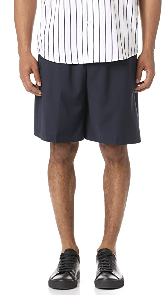 Scotch & Soda Wool Blend Bermuda Shorts
