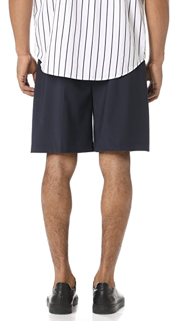Scotch & Soda Wool Blend Bermuda Shorts