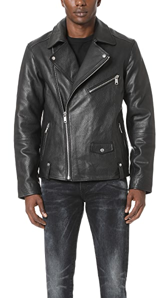 Scotch & Soda Classic Biker Jacket