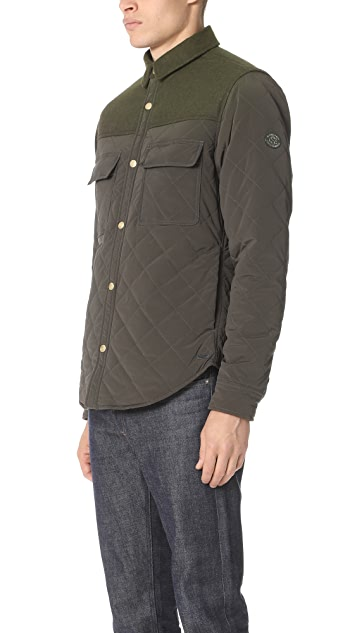 Scotch & Soda Quilted Shirt Jacket