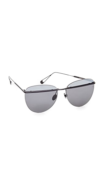 Sunday Somewhere Tallulah Sunglasses - Silver/Black