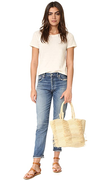 Sensi Studio Toquilla Straw Bag