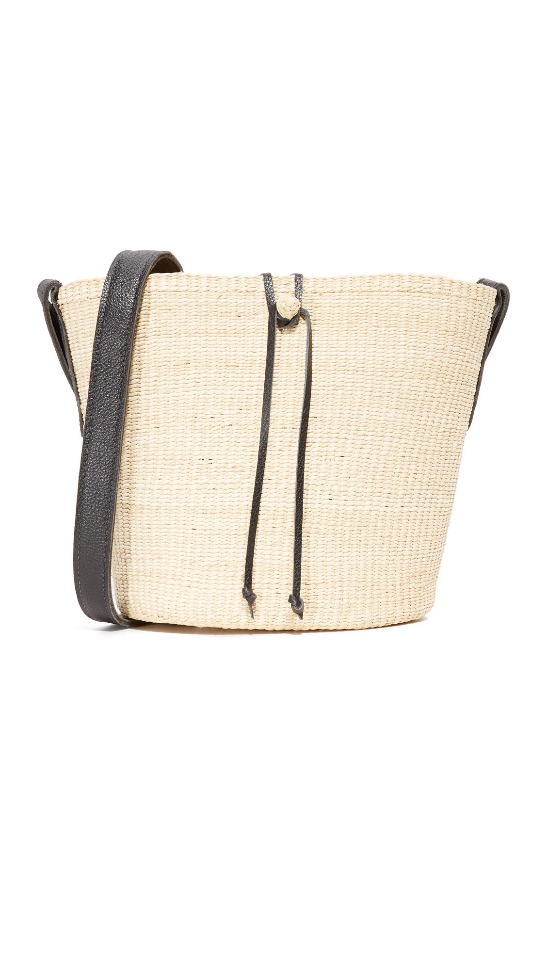 sensi studio female sensi studio cross body bucket bag natural