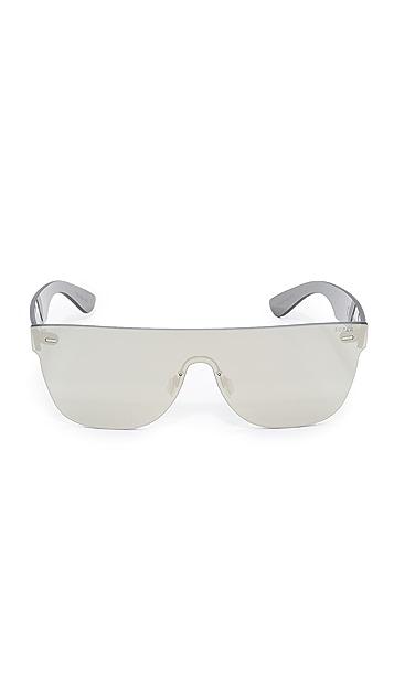 Super Sunglasses Tuttolente Flat Top Sunglasses