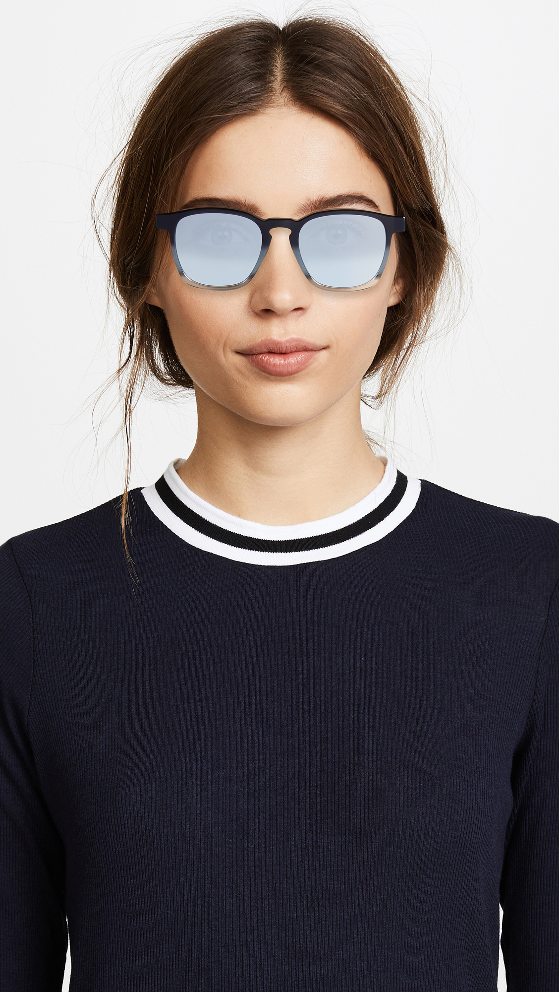 2f1a512714fee Super Sunglasses Unico Monochrome Fade Sunglasses