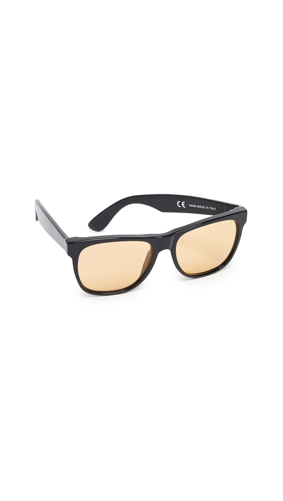 SUPER SUNGLASSES Classic Sunglasses in Mustard