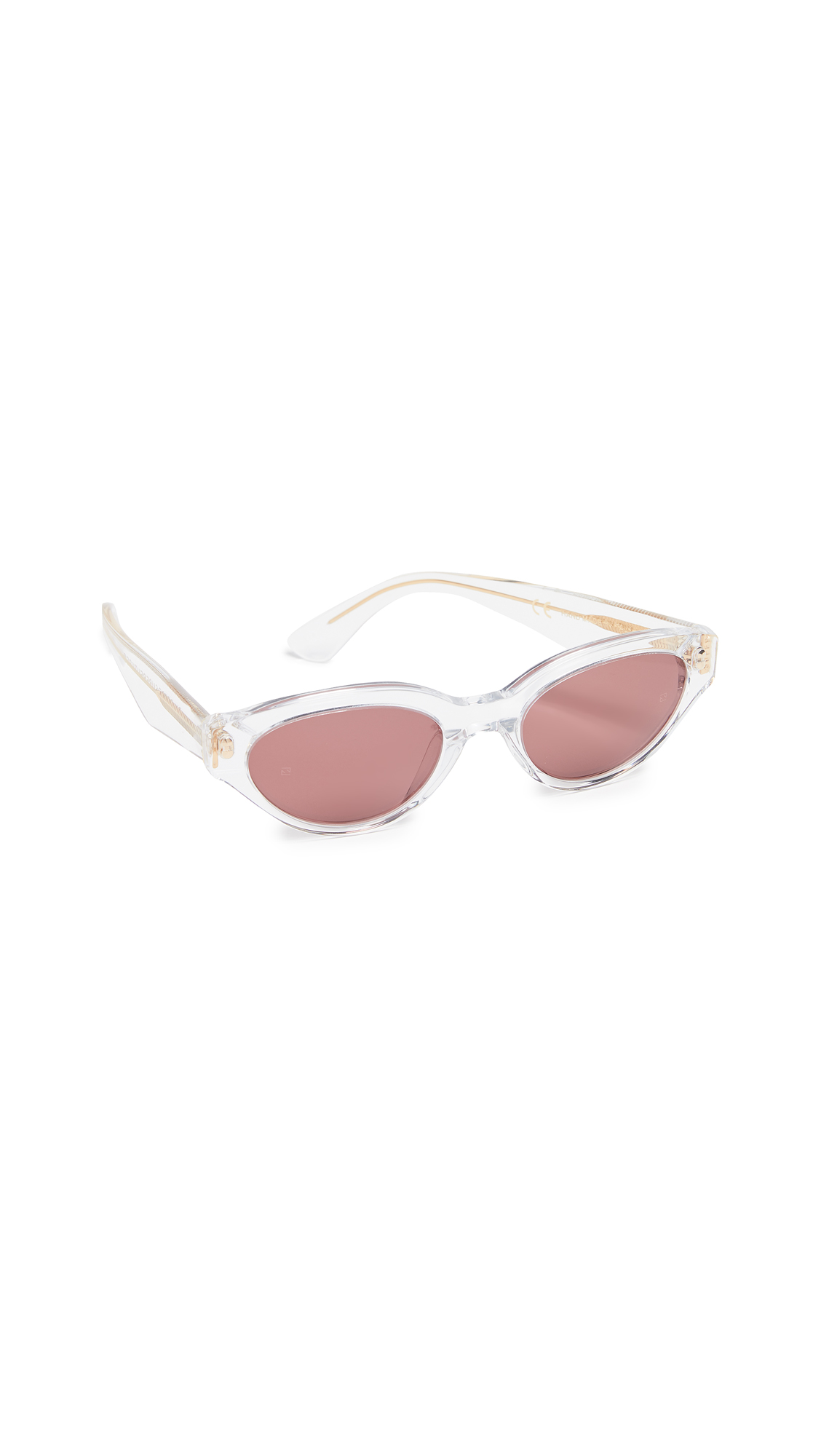 SUPER SUNGLASSES Drew Sunglasses in Crystal