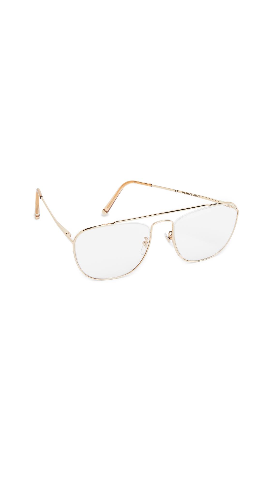 SUPER SUNGLASSES Numero 47 Glasses in Gold