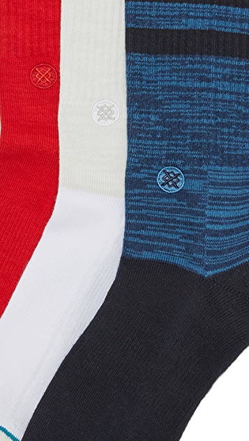 STANCE Uncommon Solids 3 Pack Socks