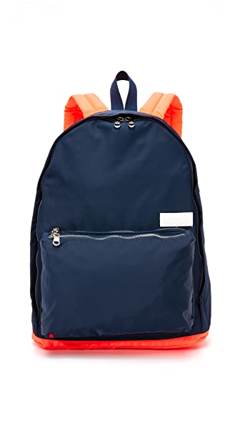 STATE Adams Backpack - Navy/Orange