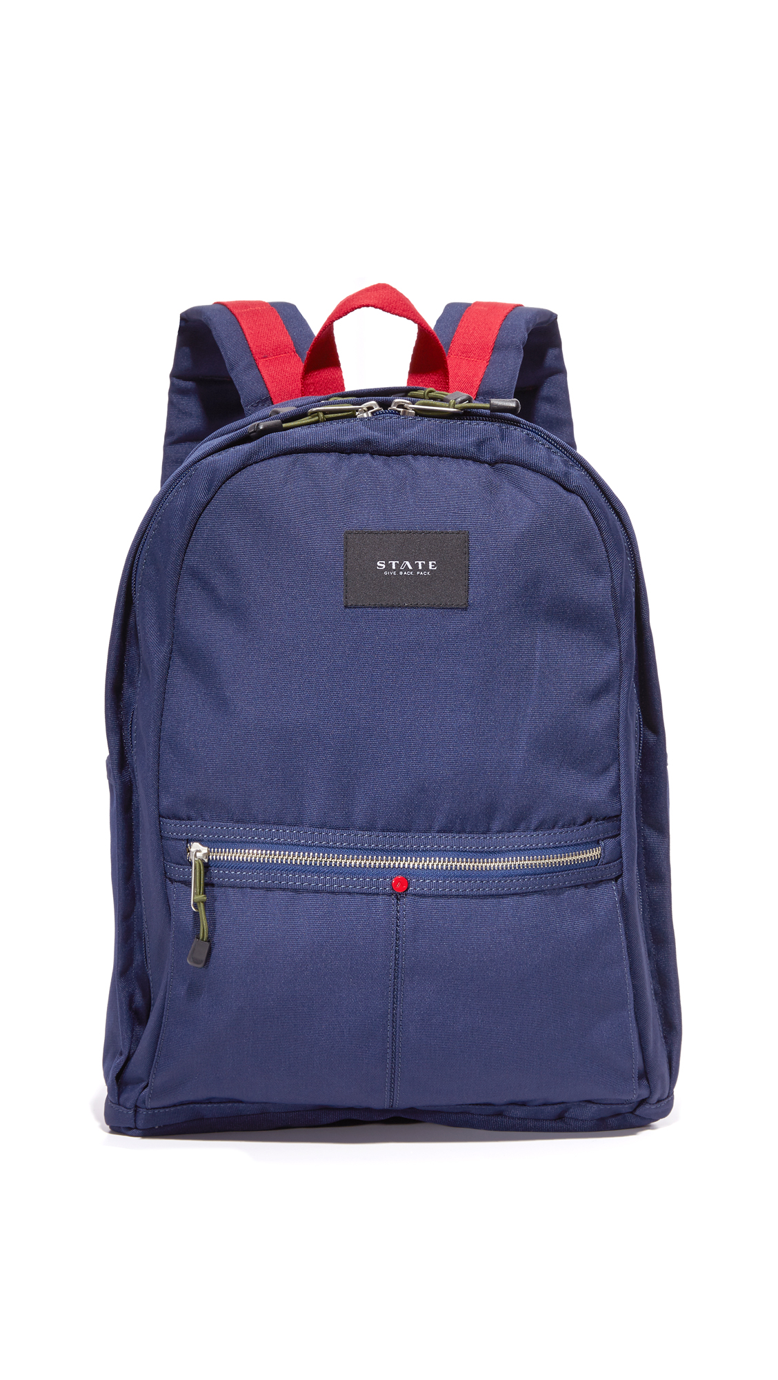 state female state bedford backpack navyred