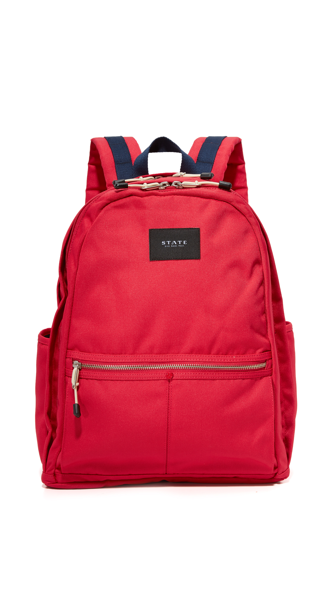 state female state bedford backpack red