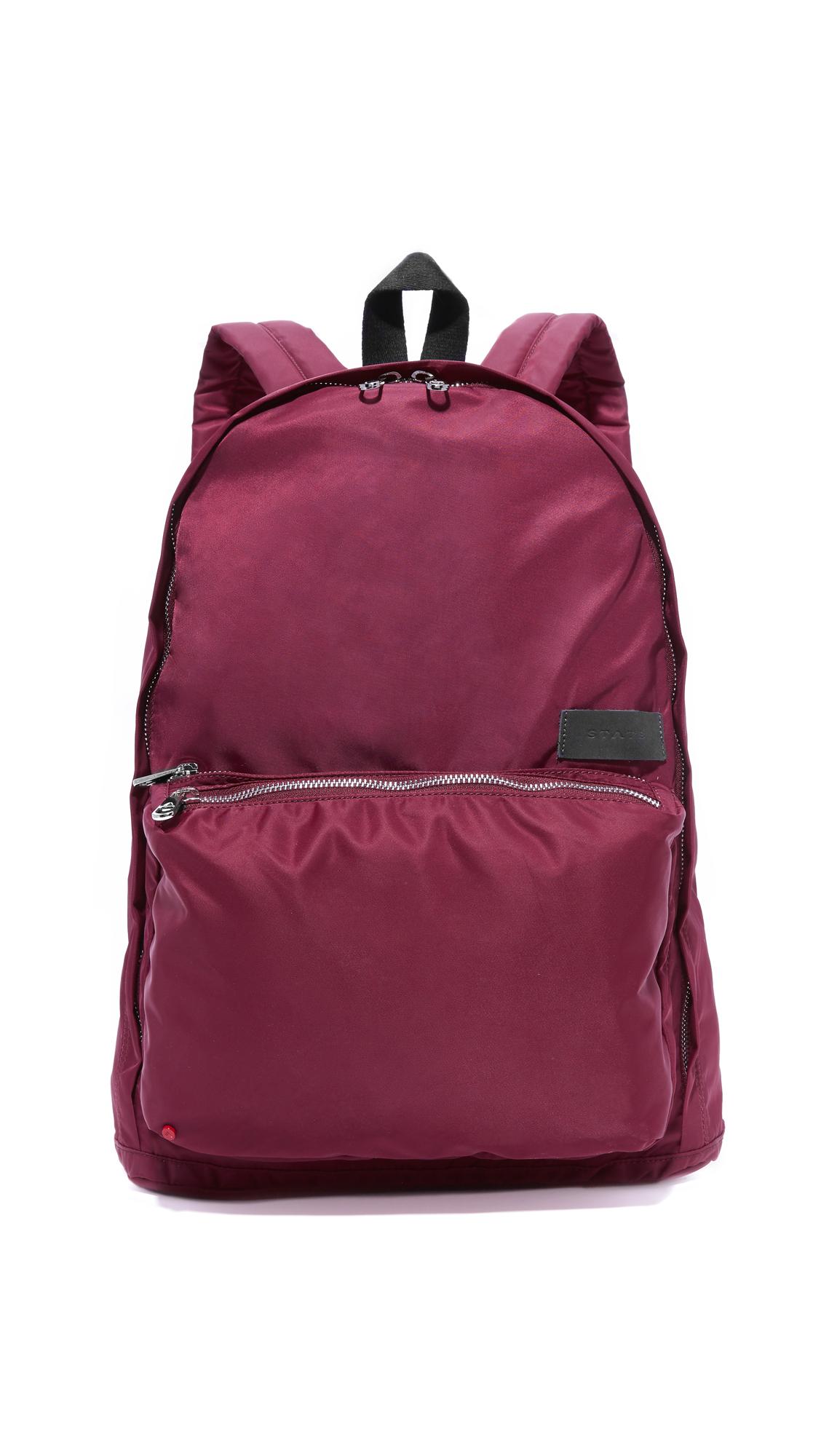 state female state lorimer backpack burgundy
