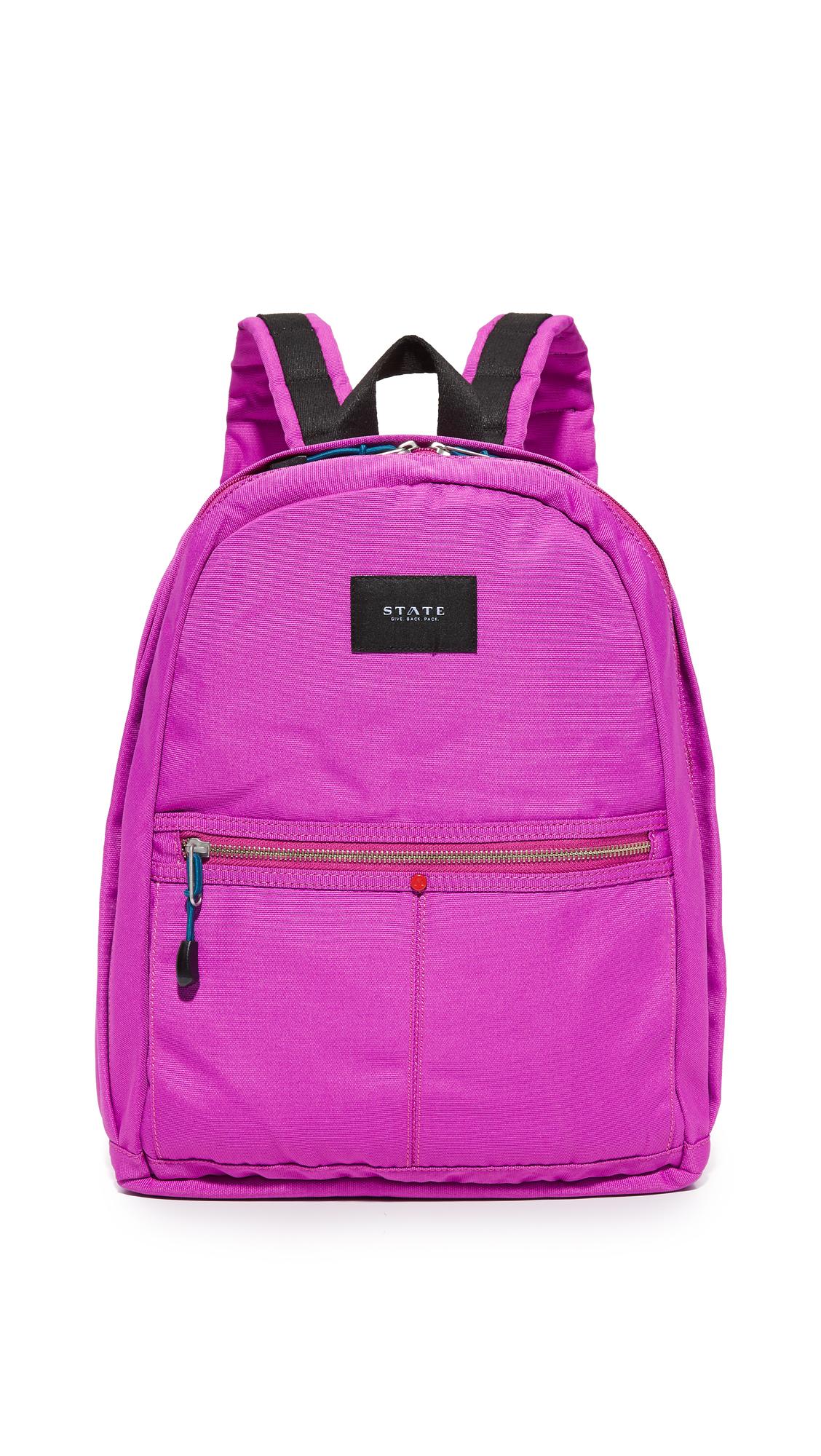 state female state kent backpack fuchsia