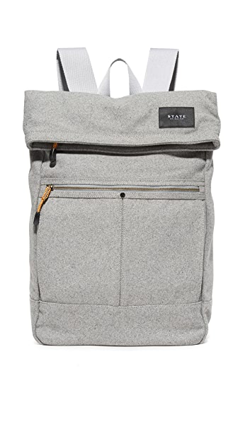 STATE Spencer Wool Backpack
