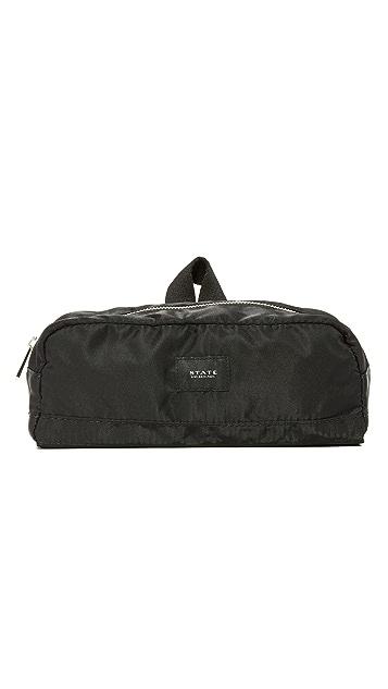 STATE Jay Nylon Travel Kit