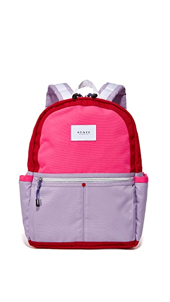 STATE Kane Backpack - Red/Violet
