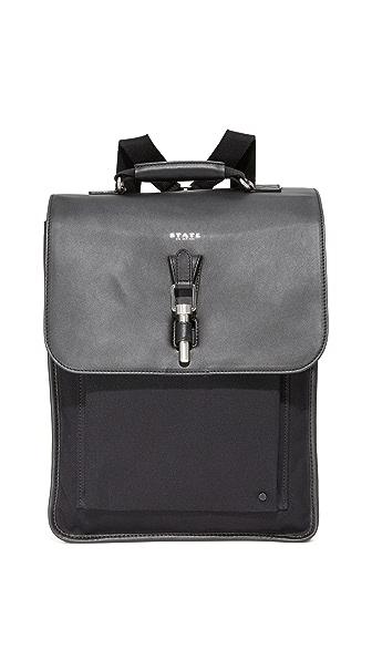 STATE Wythe Backpack - Black