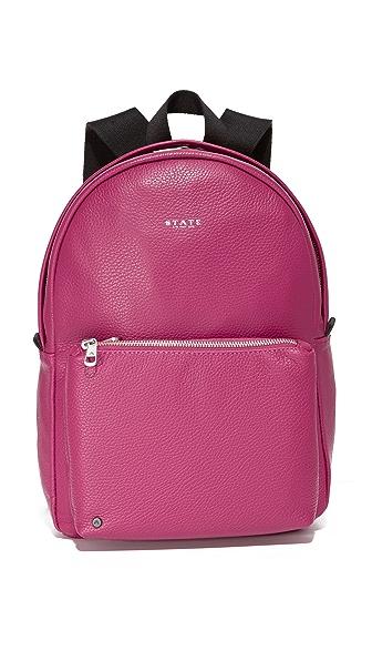 STATE Mini Lorimer Backpack - Dahlia