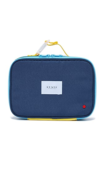 STATE Rodgers Lunch Box - Green/Navy