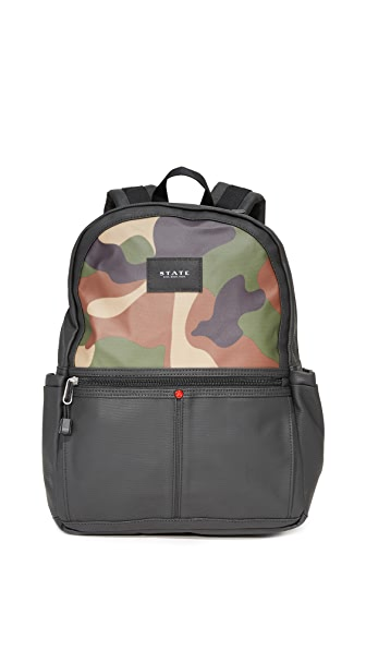 STATE Kane Backpack - Camo/Black