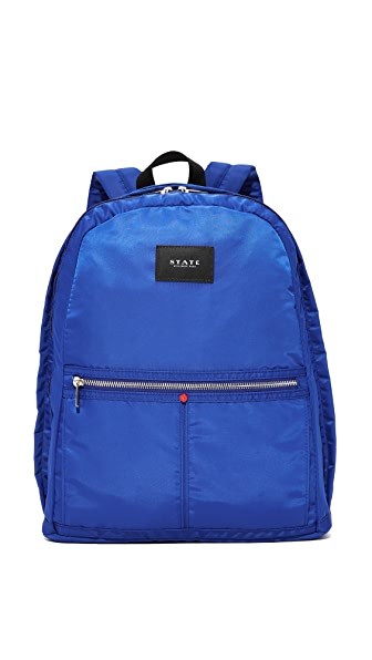 STATE Heights Kent Backpack - Yves Blue