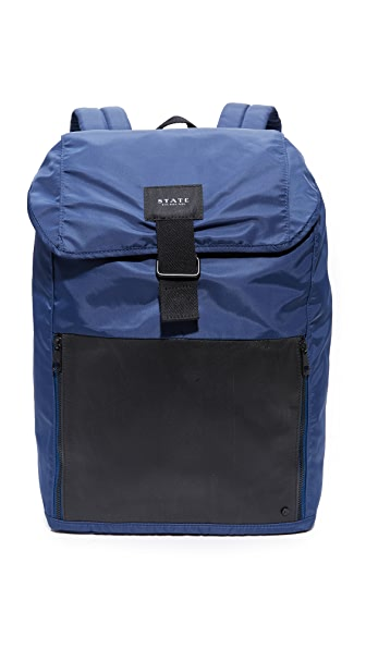 STATE Bennett Nylon Backpack