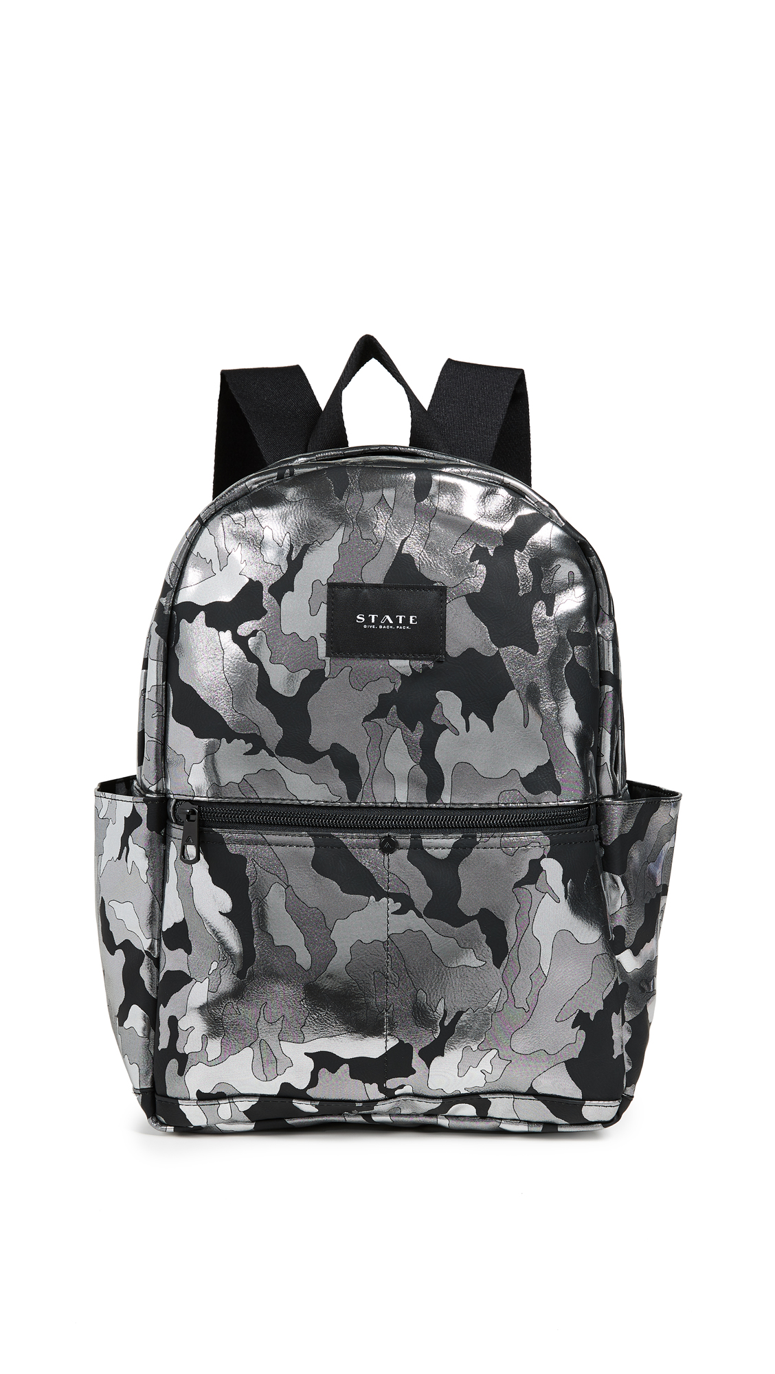 Williams P Camo Backpack, Black