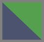 绿色/海军蓝