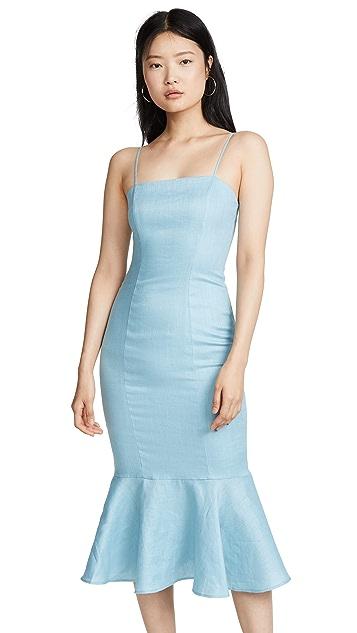 STAUD Lychee Dress