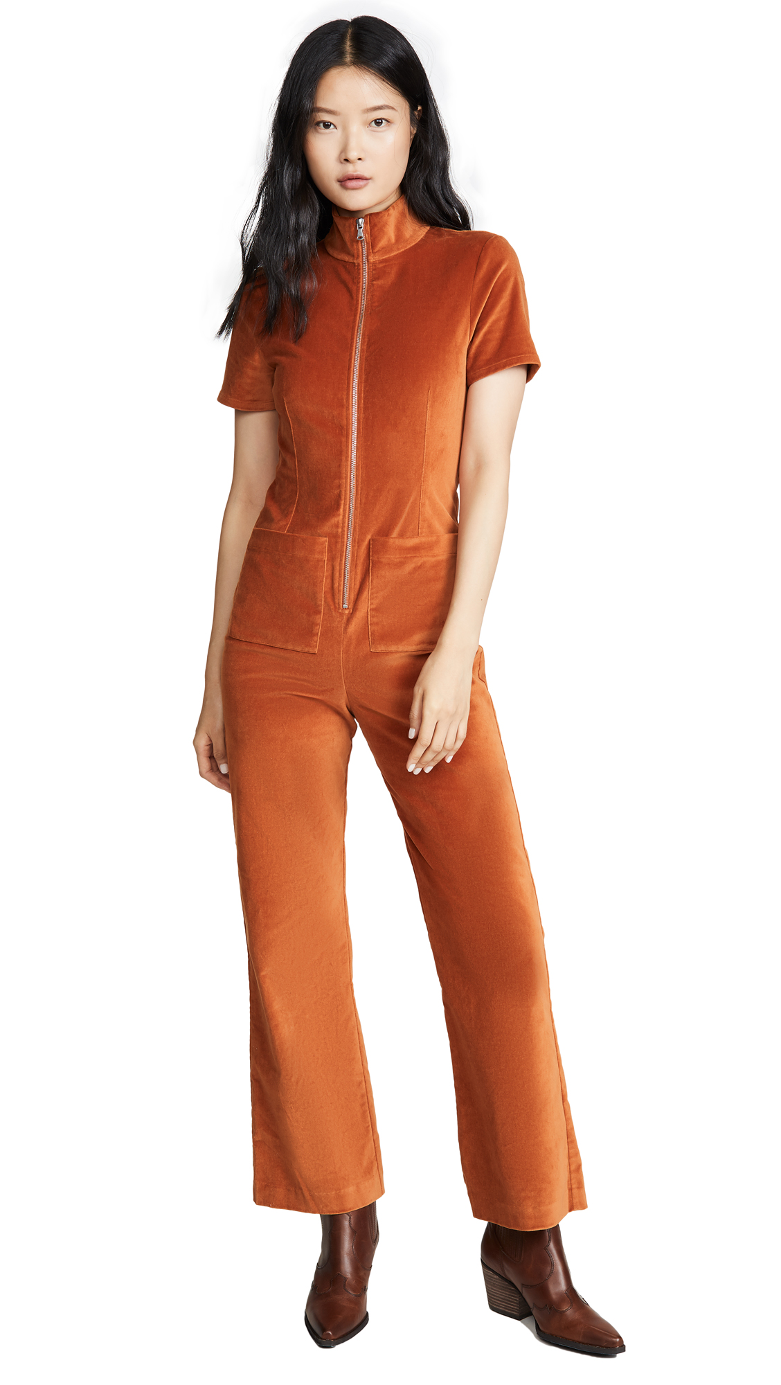 Buy STAUD online - photo of STAUD Ziggy Jumpsuit