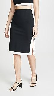 STAUD Yang Skirt