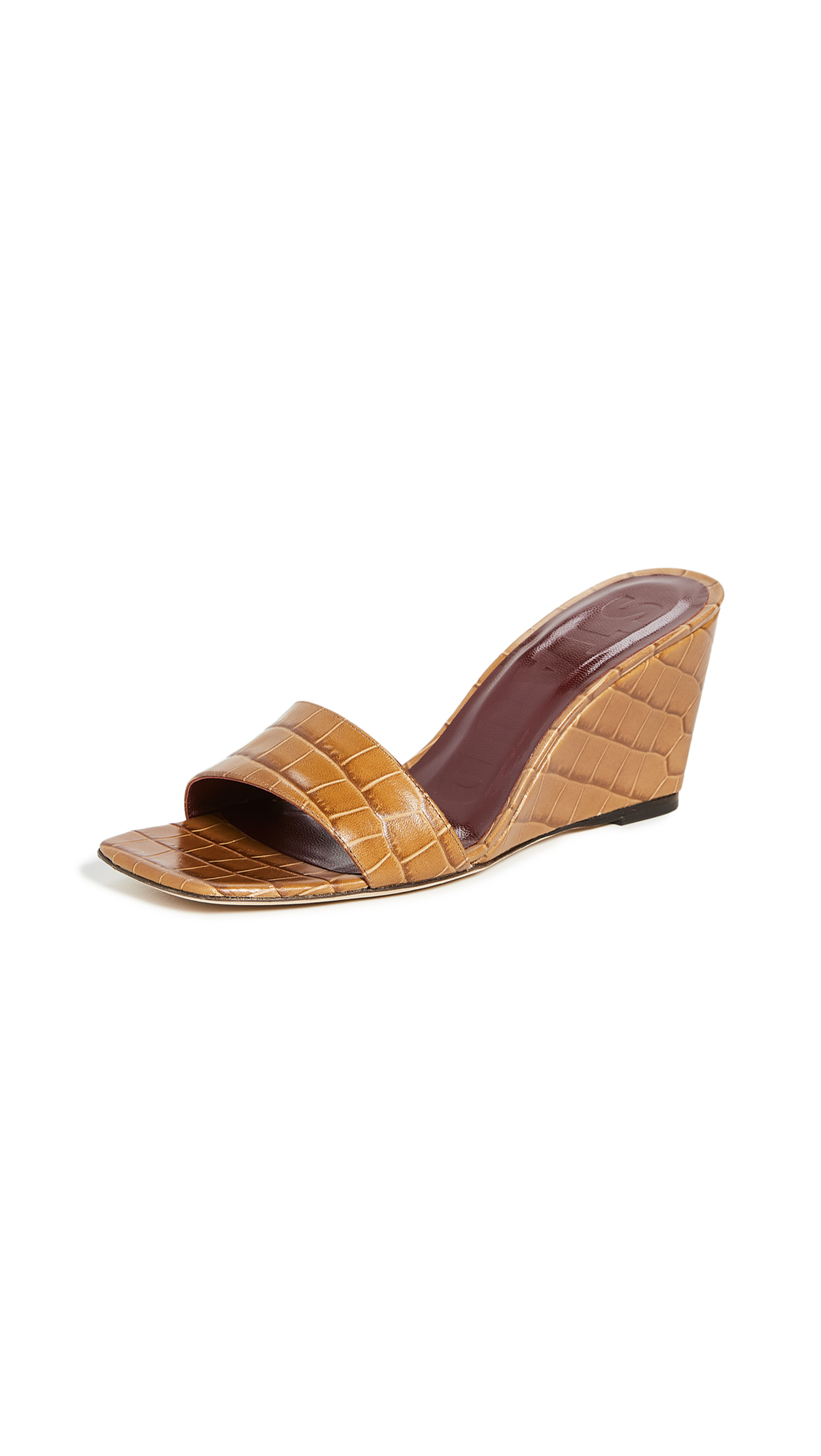 Buy STAUD online - photo of STAUD Billie Wedge Slides