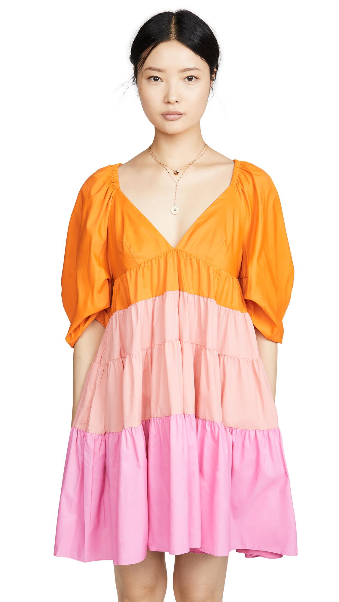 STAUD Mini Meadow Dress - 30% Off Sale