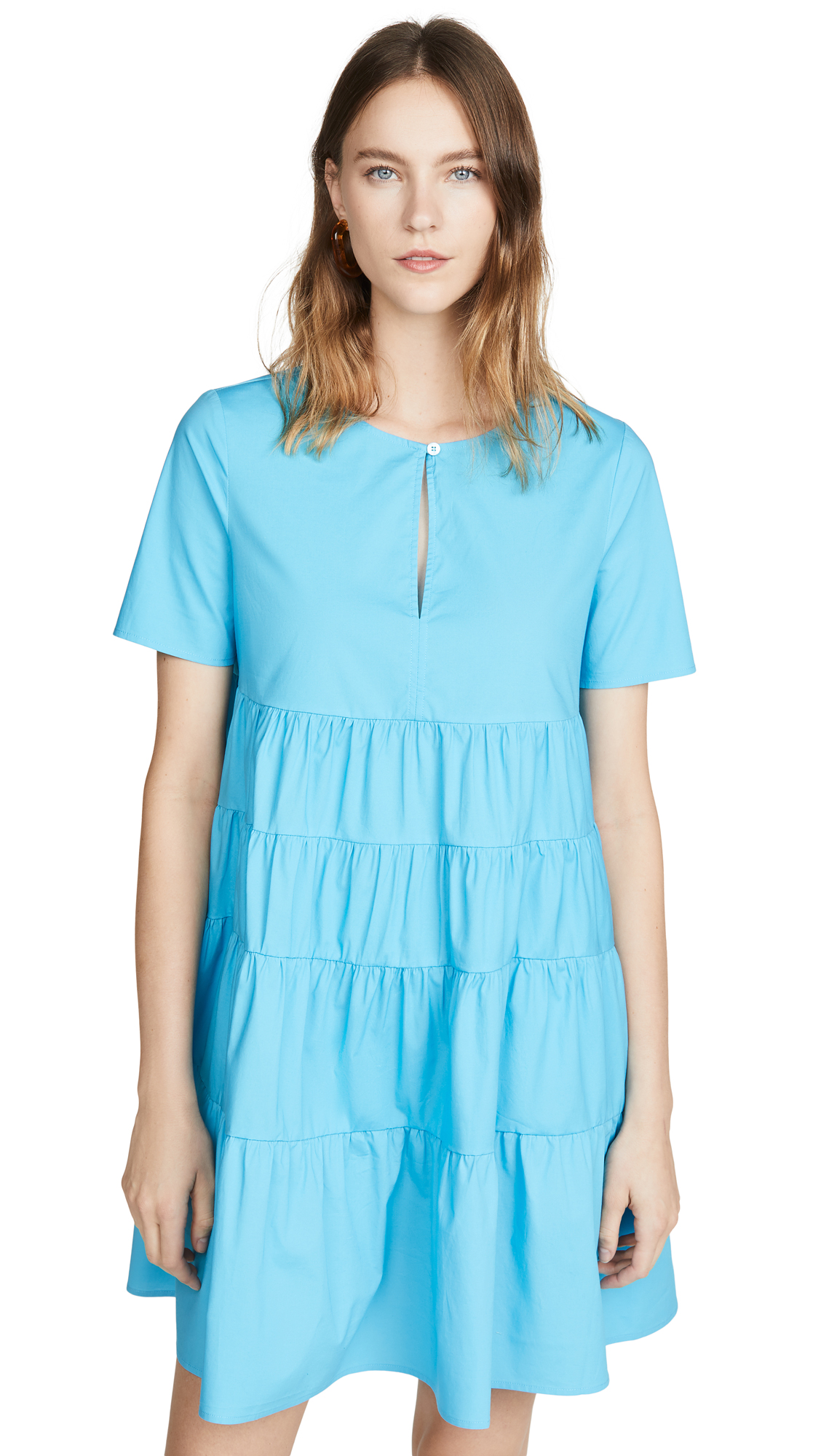 Buy STAUD online - photo of STAUD Mini Cocoon Dress