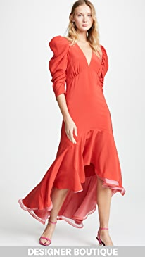 80d0fd131f20 Designer Red Long Sleeve Maxi Dresses | SHOPBOP