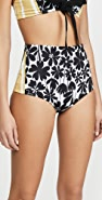 Silvia Tcherassi Hilaria High Waisted Bikini Bottoms